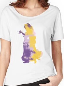 Character Inspired Silhouette  Women's Relaxed Fit T-Shirt