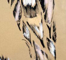 Feather pattern 6 Sticker