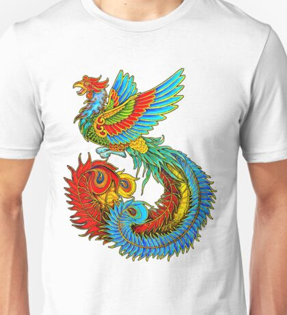 Fenghuang Chinese Phoenix Unisex T-Shirt