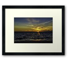 Painted By God Framed Print