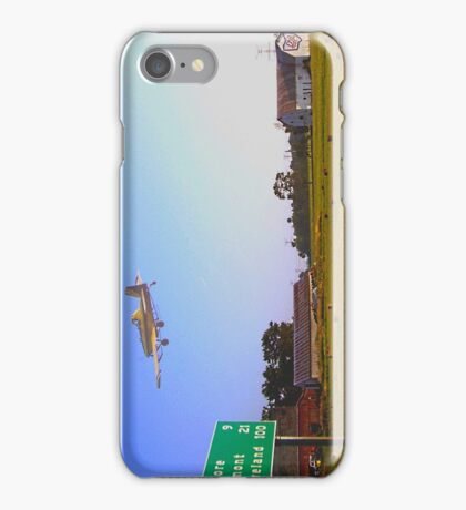Crop Duster iPhone Case/Skin