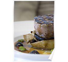 Beef & Olives Poster