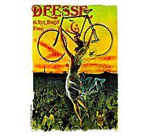 """DEESE"" Vintage Bicycle Advertising Print Photographic Print"