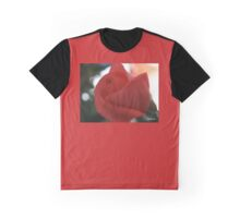 RED ROSEBUD WITH SUNBEAMS Graphic T-Shirt