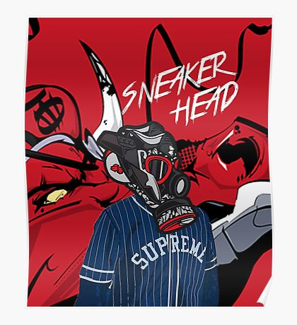Sneaker Head Poster