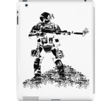 "Advanced Machine Gunner Juggernaut ""Sully"" iPad Case/Skin"