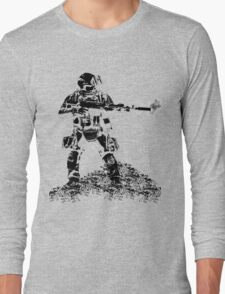 "Advanced Machine Gunner Juggernaut ""Sully"" Long Sleeve T-Shirt"