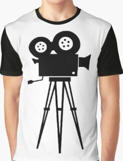 Film Camera Movies Photography Vintage Retro Graphic T-Shirt