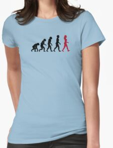 Evolution of Womens Womens Fitted T-Shirt