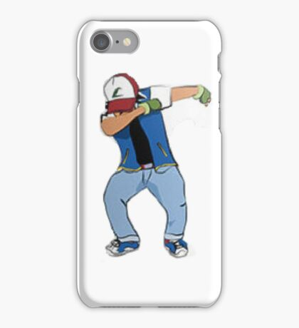 Ash Ketchum Dab iPhone Case/Skin