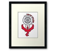 Pokemon Go - Team Valor Pokestop Design Framed Print