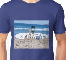 Lifeguard Surfboard Rescue Station  Unisex T-Shirt