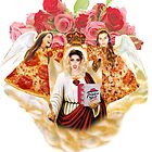 pizza angels by Annecy Kenny