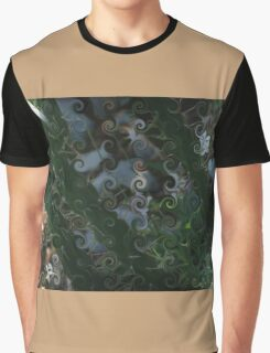 MAGIC CACTUS WITH LIGHT BEAMS Graphic T-Shirt