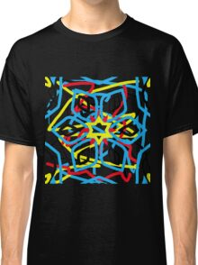 colorful kaleidoscope mandala Classic T-Shirt
