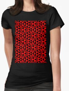 DESIGN-500 Womens Fitted T-Shirt