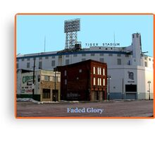 Faded Glory Canvas Print