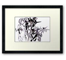 Neon Genesis Evangelion III Framed Print