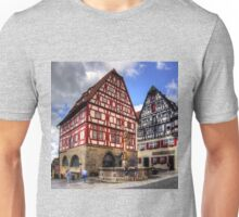 St. George's Fountain Rothenburg Unisex T-Shirt