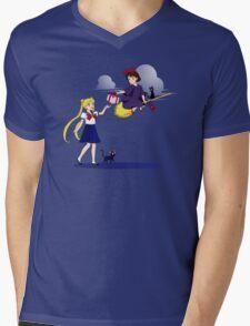 Magical Girls Mens V-Neck T-Shirt