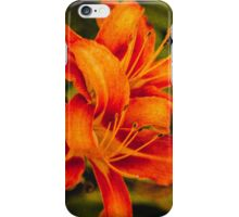 Late afternoon lilies iPhone Case/Skin
