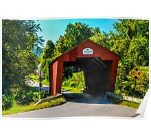 Cooley Covered Bridge Poster