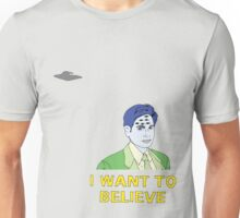 Eye Want to Believe  Unisex T-Shirt