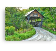 Coburn Covered Bridge Canvas Print