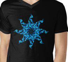 Flower of Ease Mens V-Neck T-Shirt