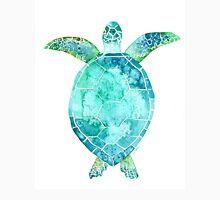 Blue Turtle, turtle art, ocean turtle swiming Unisex T-Shirt