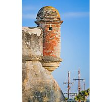 Spanish Fort and Galleon Photographic Print