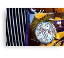 Hot Rod Show Car Light Canvas Print