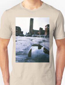 dog, snoopy, ruins Unisex T-Shirt
