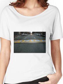 Boston Marathon Finish Line Women's Relaxed Fit T-Shirt