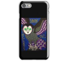 Dark Owl Records iPhone Case/Skin