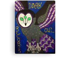 Dark Owl Records Canvas Print