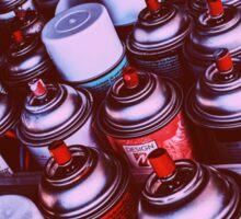 Graffiti Spray Cans Sticker