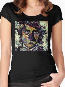 Willy Wonka - Gene Wilder Women's Fitted Scoop T-Shirt