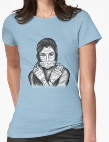Lauren Jauregui - Stop Bullying Womens Fitted T-Shirt