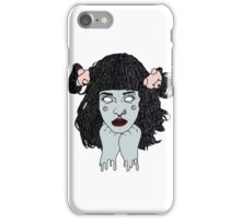 they call me crybabyyy iPhone Case/Skin