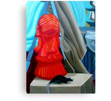 The Orange Girl and The Rat Canvas Print