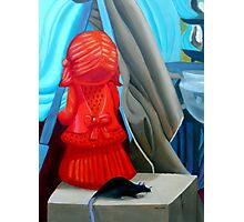 The Orange Girl and The Rat Photographic Print