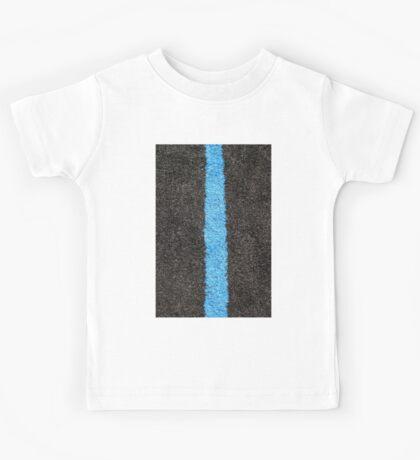 Black Blue Lawn Kids Tee