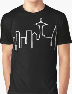 Seattle Skyline (Frasier) Graphic T-Shirt