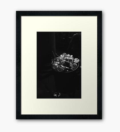 European Trash Framed Print