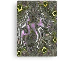 Purple Ribbon Canvas Print