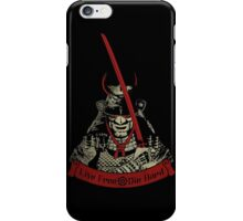 Live Free - Die Hard (limited edition) iPhone Case/Skin