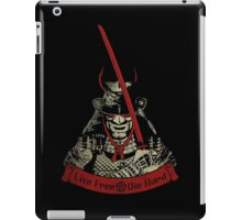 Live Free - Die Hard (limited edition) iPad Case/Skin