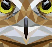 Poly Wise Owl | Owls Sticker