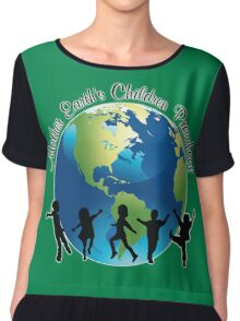Mother Earth Children's Pre-School Chiffon Top